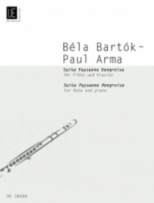 Suite Paysanne Hongroise for Flute and Piano - Bela Bartok