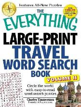 The Everything Large-Print Travel Word Search Book, Volume II - Charles Timmerman