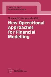 New Operational Approaches for Financial Modelling - Constantin Zopounidis