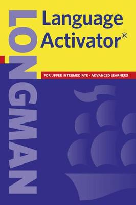 Longman Language Activator Paperback New Edition -