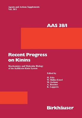 Recent Progress on Kinins - H. Fritz
