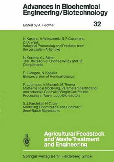 Agricultural Feedstock and Waste Treatment and Engineering - Y.J. Asher
