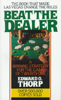 Beat the Dealer - Edward Oakley Thorp