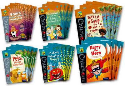 Oxford Reading Tree TreeTops Chucklers: Oxford Level 8-9: Pack of 36 - Jeremy Strong