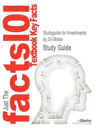 Studyguide for Investments by Bodie, Zvi, ISBN 9780073530703 - Zvi Bodie