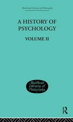 A History of Psychology - George Sydney Brett