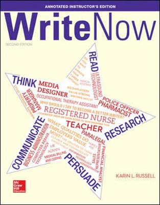 Write Now - Karin L. Russell