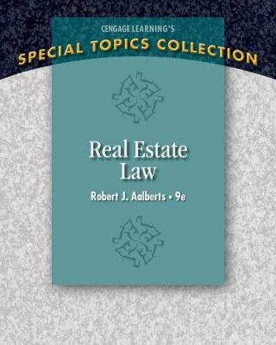 Real Estate Law - Robert Aalberts