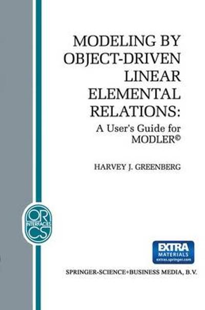 Modeling by Object-Driven Linear Elemental Relations - H.J. Greenberg