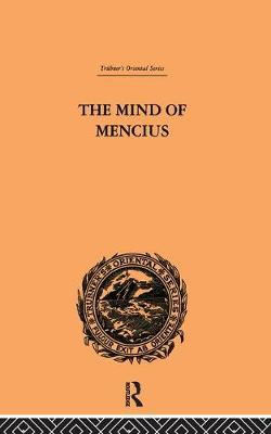 The Mind of Mencius - E. Faber