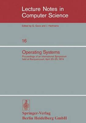 Operating Systems - E. Gelenbe