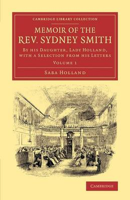 Memoir of the Rev. Sydney Smith - Saba Holland