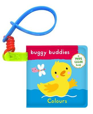 Wipe-Clean Buggy Buddies: Colours - Jo Moon