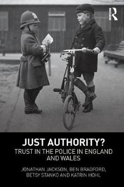 Just Authority? - Jonathan Jackson