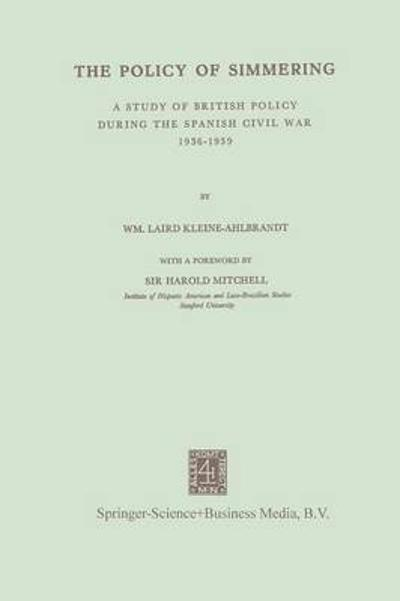 The Policy of Simmering - NA Kleine-Ahlbrandt