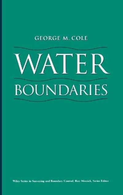 Water Boundaries - George M. Cole