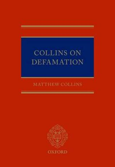 Collins On Defamation - Matthew Collins