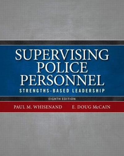 Supervising Police Personnel - Paul M. Whisenand