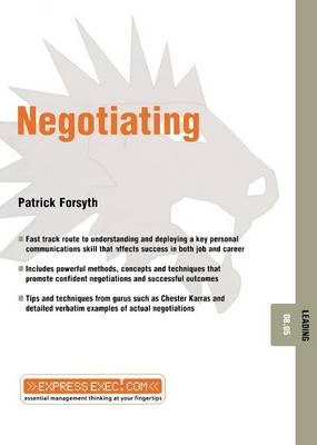 Negotiating - Patrick Forsyth