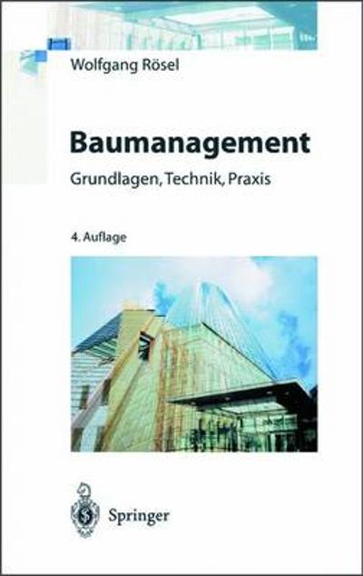 Baumanagement - Wolfgang Roesel