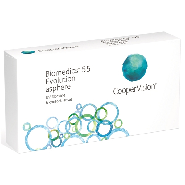 Biomedics 55 Evolution - Cooper Vision