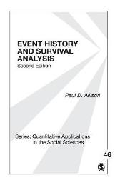 Event History and Survival Analysis - Paul D. Allison