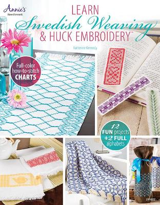 Learn Swedish Weaving & Huck Embroidery - Katherine Kennedy
