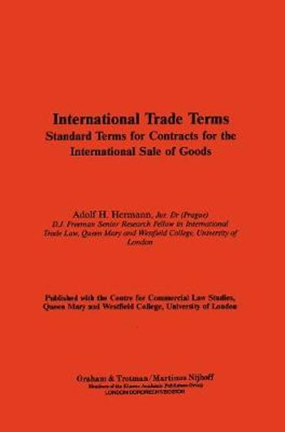 International Trade Terms - A.H. Hermann