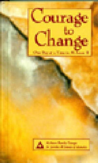 Courage to Change - Al-Anon Family Group
