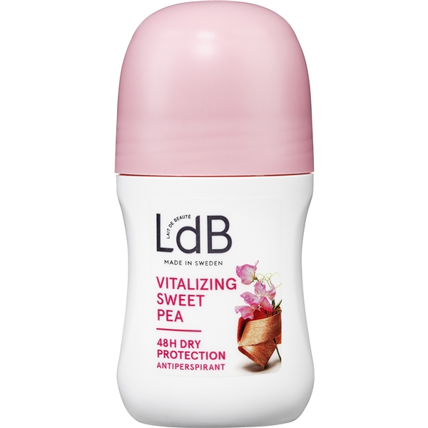 LdB Roll On Vitalizing, Sweet Pea & Silk - LdB