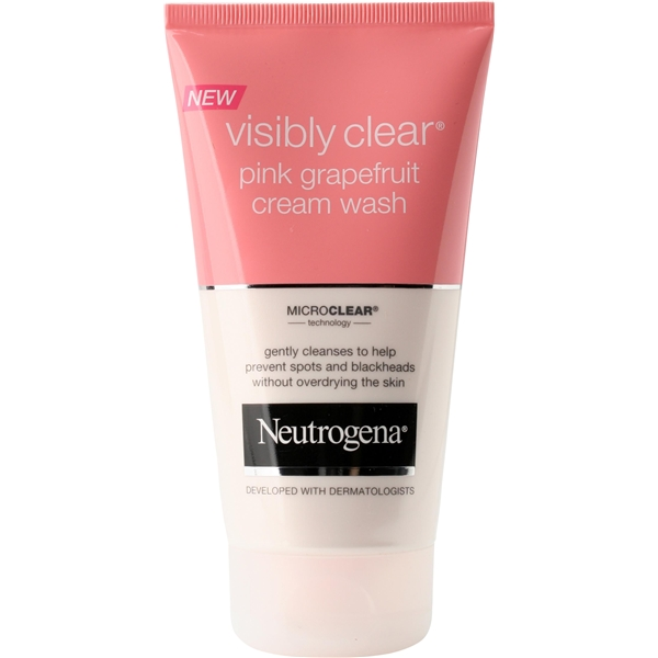 Pink Grapefruit Cream Wash - Neutrogena
