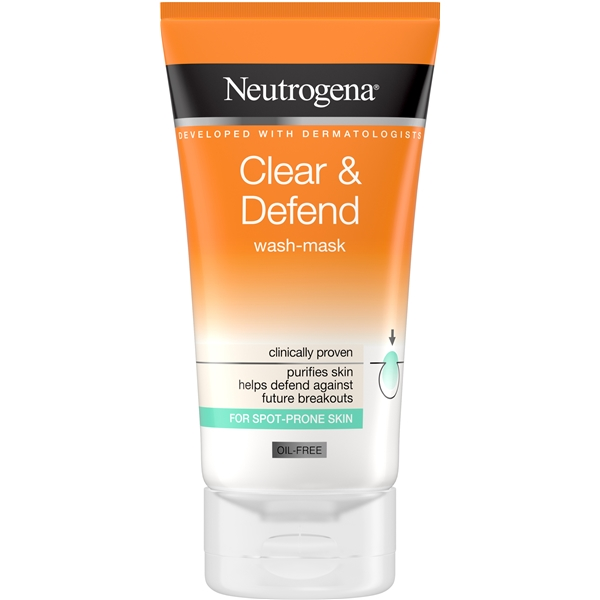 Visibly Clear 2 in 1 Wash Mask - Neutrogena