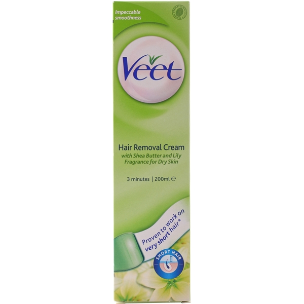 Veet 3 Minute Hair Removal Cream - Dry Skin - Veet