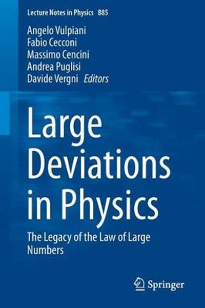 Large Deviations in Physics - Angelo Vulpiani